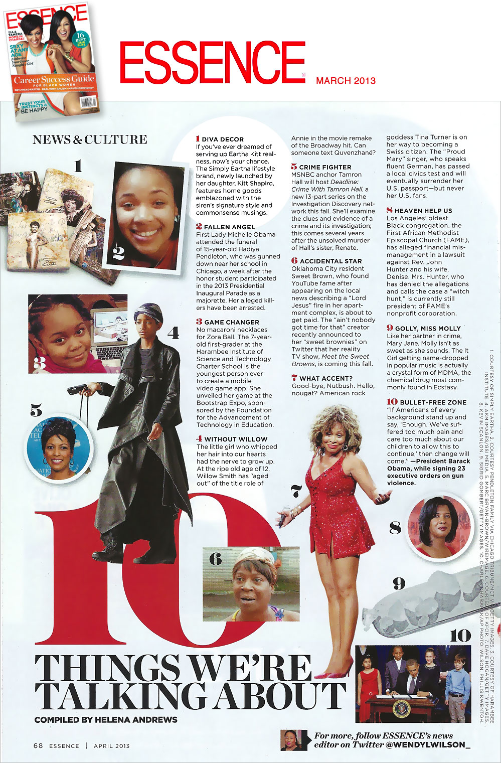 Essence Magazine March 2013